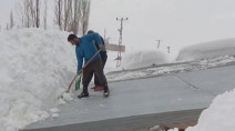 WATCH: Town buried under 6 metres of snow, see it here