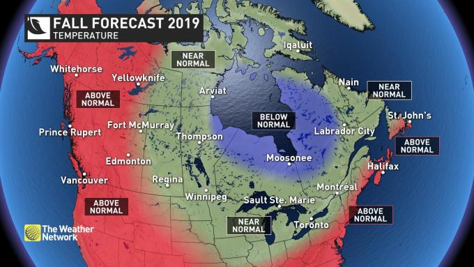 The Weather Network - FALL FORECAST: Your next three months ...