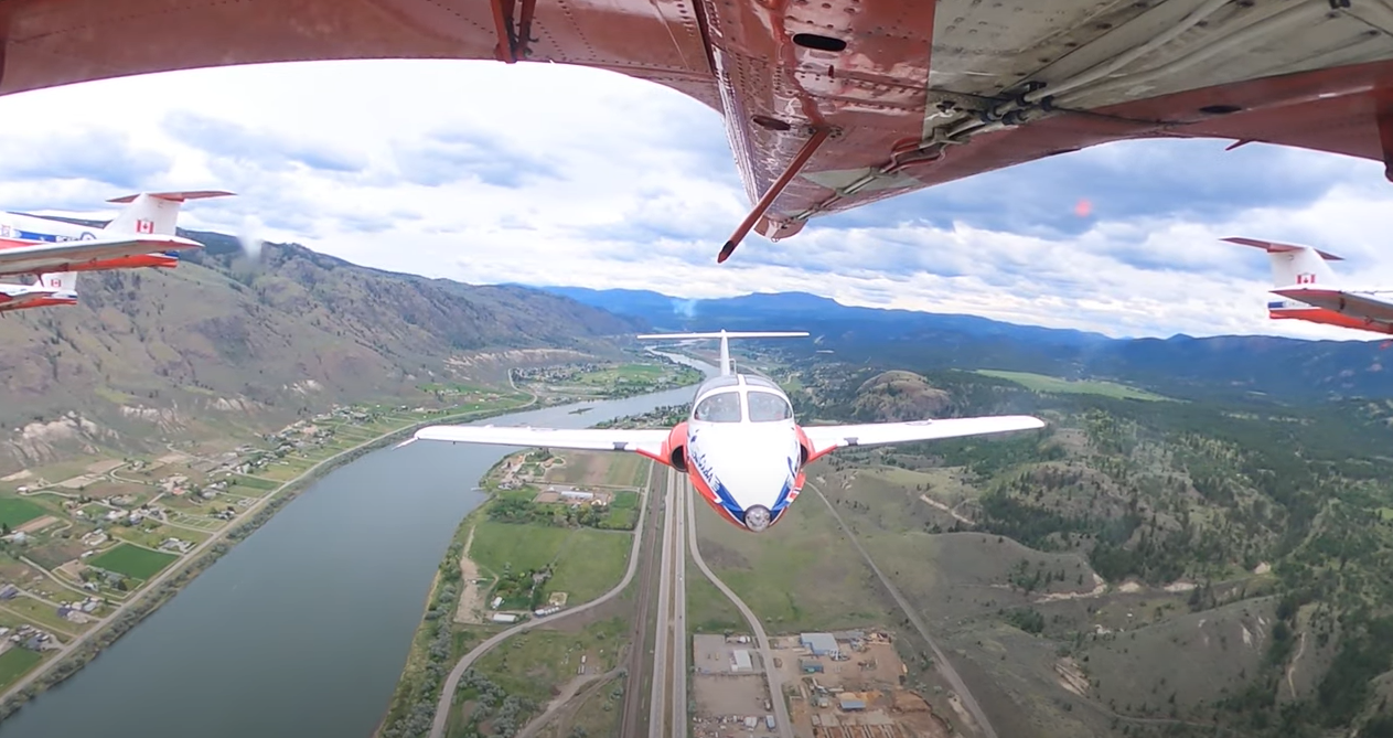 CF Snowbird crashes near Kamloops during BC stop of cross-Canada tour