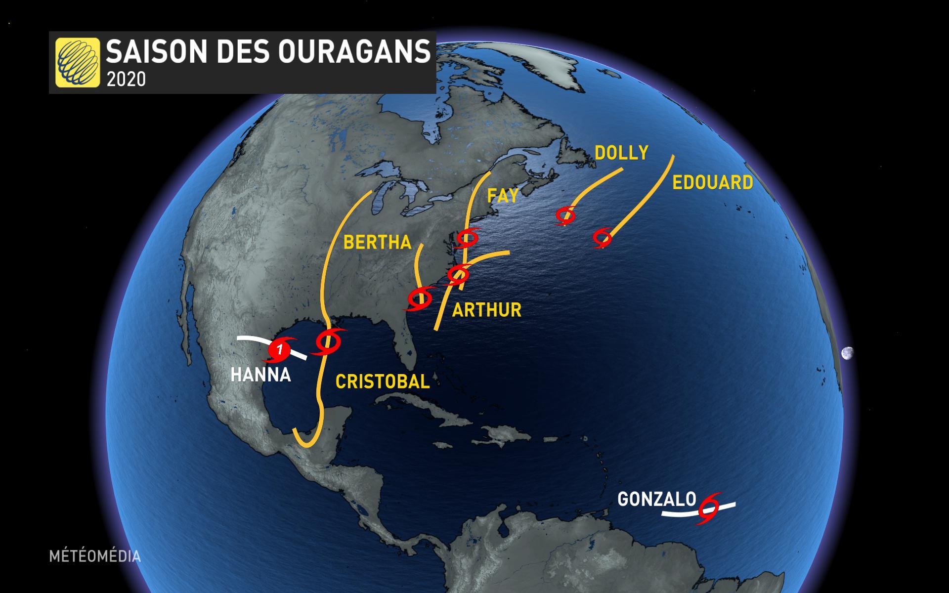 Caraïbes : la tempête Isaias devient un ouragan de catégorie 1