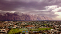 Massive dust storm, damaging hail, and flash floods hit Australia