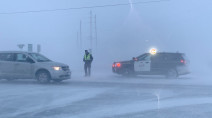 PHOTOS: Life-threatening snow squalls create havoc on Ontario roads