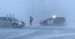 PHOTOS: Dangerous squalls create havoc with whiteouts on Ontario roads