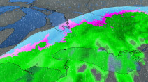 Ontario: Ice, rain and snow threaten the weekend, temps a big factor