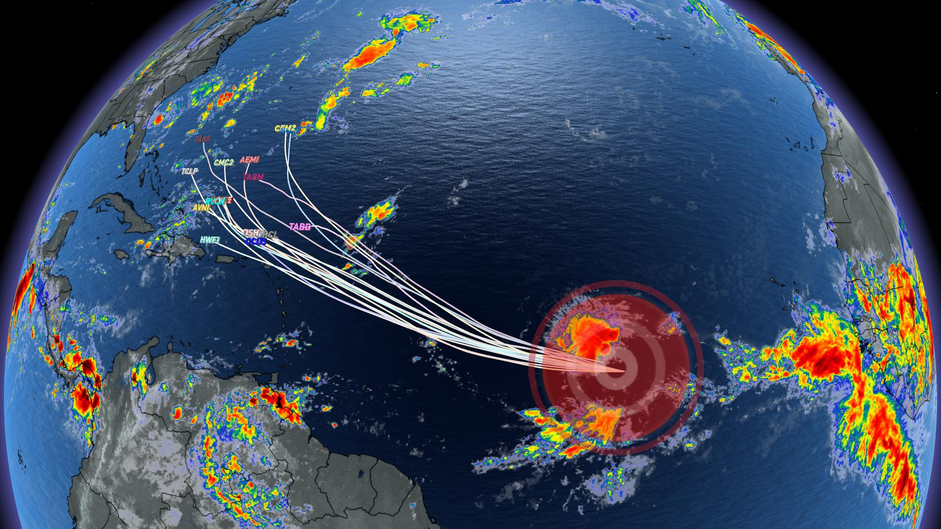 Tropics stir once again, 10th named storm set to make an entrance