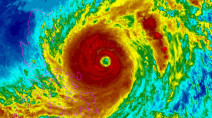 Surigae intensifies into year's first super typhoon in the Pacific