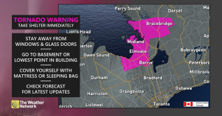 Tornado warnings dropped in Ontario, but tornado watches still in effect