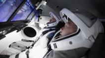 SpaceX 'go for launch' on first crewed flight to the International Space Station