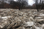 As winter fades, massive ice jams are a lingering hassle