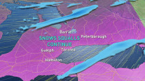 Ontario: Near impossible travel as snow squalls intensify