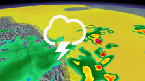 Severe weather threat reappears in Alberta, storms may bring large hail