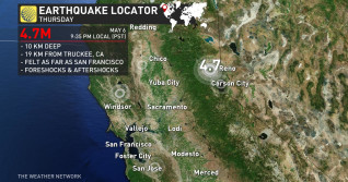4.7 magnitude earthquake rattles Northern California