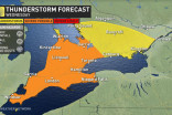 Humidity returns in Ontario causing storm risk