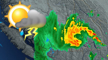 B.C.: Keeping a close eye on potential severe thunderstorms in the Interior