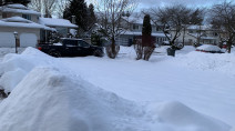 PHOTOS: B.C. digs out after winter storm dumps heavy snow, causes power outages