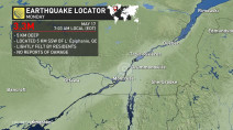 Moderate earthquake jolts Montrealers awake Monday morning