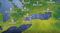 Ontario: Wild mix of heavy snow, freezing rain, strong winds to end the week