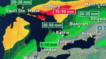 Ontario: Tropical moisture fuels humidity, heavy rain