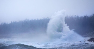 PHOTOS: Towering waves, strong winds as Teddy impacts Atlantic Canada