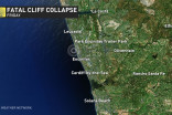 3 killed after cliff collapses on California beach near San Diego