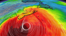 100-foot waves possible offshore as Hurricane Teddy nears East Coast