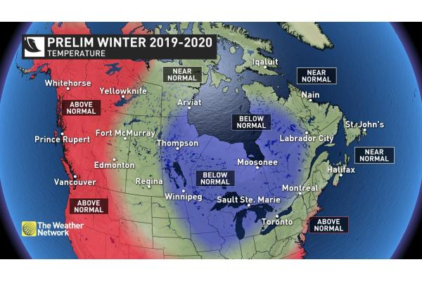 Accuweather Winter Forecast 2020.Winter 2019 20 Luchainstitute