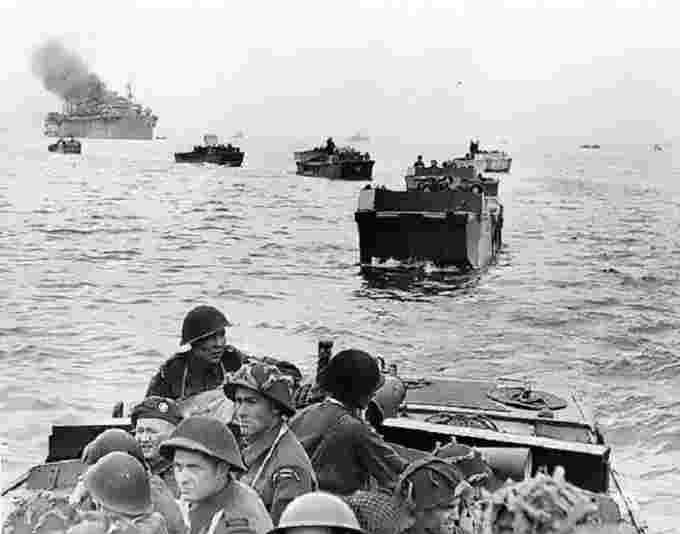 Canadian landings at Juno Beach