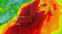 Atlantic: 'High impact system' will bring heavy rain, powerful wind gusts