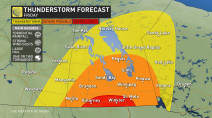 Manitoba: Severe storms bring torrential rain, chance of tornadoes