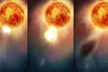 Betelgeuse dimming blamed on 'stellar sneeze', and it's dimming again!