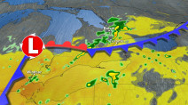 Severe risk shifts southwest to close out Ontario's long weekend