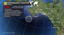 No tsunami threat in B.C. following a M7.5 earthquake in Alaska