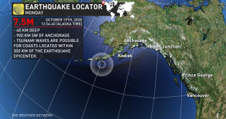 B.C. being assessed for tsunami risk, M7.5 earthquake hits Alaska