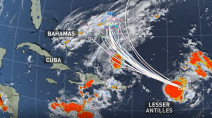 Hurricane Jerry expected to pass north of Leeward Islands