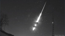 Bright meteor over southern Ontario traced back to the asteroid belt