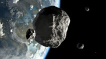 Newly-discovered asteroid buzzes past Earth Thursday morning