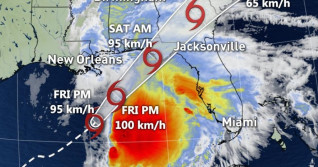 Tropical Storm Nestor to bring life-threatening surge to Gulf Coast