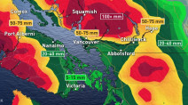 B.C.: Sustained drenching continues right into the weekend