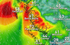 Powerful wind gusts and thunderstorms target B.C