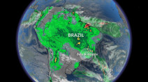 Nearly 50 dead, thousands displaced as storms lash SE of Brazil