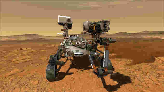 NASA-Perseverance-Rover