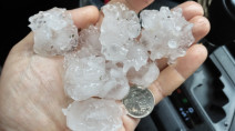 PHOTOS: Severe storms bring heavy rain and hail to GTA, Barrie region