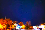Strange string of lights in Manitoba spark confusion, intrigue