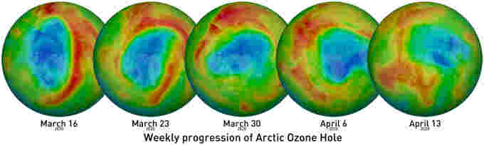 Weekly-Arctic-Ozone-NASA