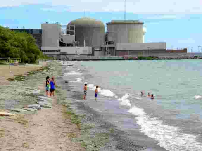 ON pickering nuclear power Credit: Wikimedia commons