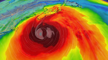 Hurricane Teddy arrival nears, East Coast impacts already beginning