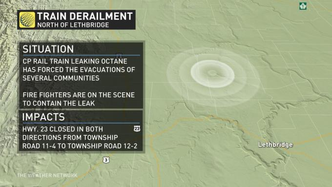 The Weather Network - Evacuation orders ended near