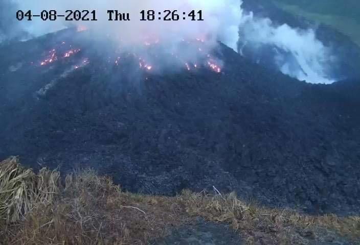 More explosions expected to rock St Vincent's La Soufriere
