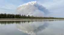 Massive fire north of Prince Albert, Sask., threatens farms and acreages