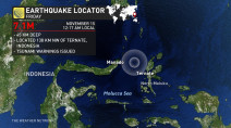Tsunami threat passes after 7.1-magnitude quake hits off Indonesia